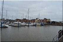 TA0928 : Hull Marina by N Chadwick