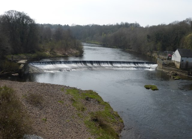 Blantyre Weir from the David Livingstone Memorial Bridge