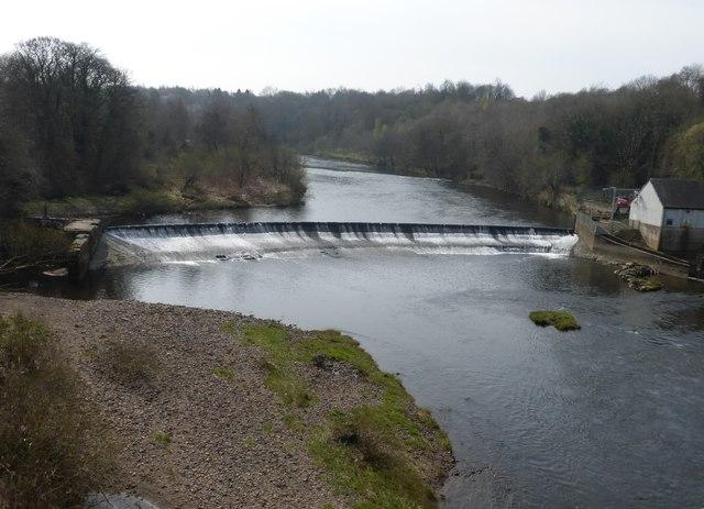 Blantyre Weir from the David Livingstone Memorial Bridge