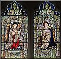 TQ5282 : St Helen & St Giles, Rainham - Stained glass window by John Salmon