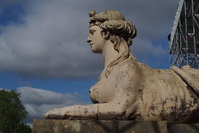 Croome Court Sphinx