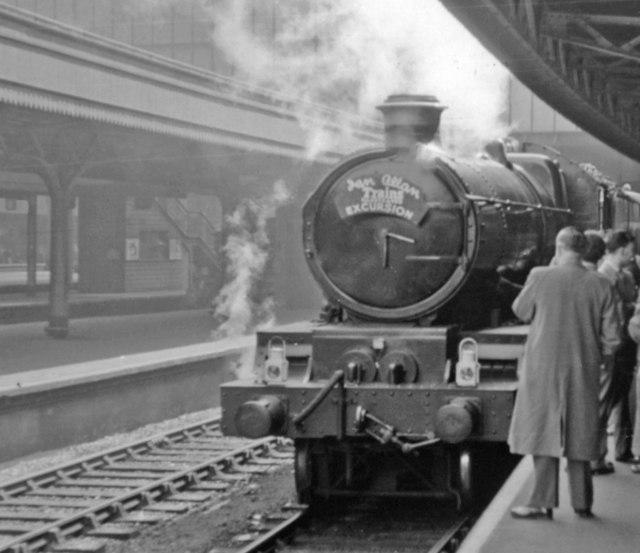 Ian Allan 'Trains Illustrated' Excursion at Paddington, 1955