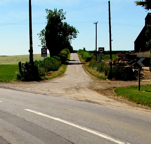 Oakes Lane near Badminton