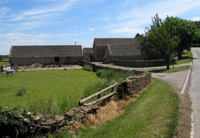 Newhouse Farm buildings near Badminton