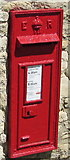 ST7880 : King Edward VII postbox, Newhouse Farm near Badminton by Jaggery