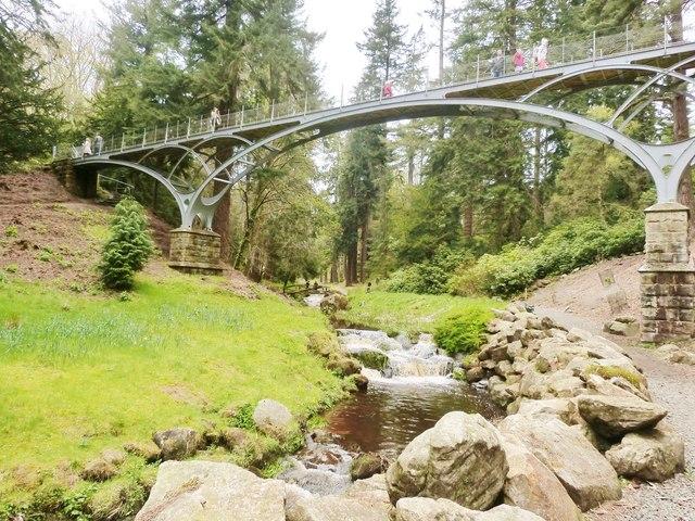 The Iron Bridge, Cragside, Northumberland
