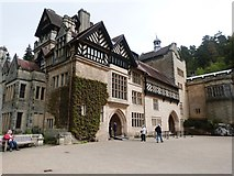 NU0702 : The beautiful south front of cragside House by Derek Voller
