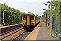 SD4910 : Northern Rail Class 156, 156443, Parbold railway station by El Pollock