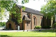 SU8652 : St Andrew's Garrison Church, Aldershot by Julian Osley