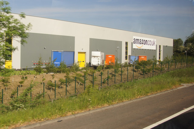 amazon.co.uk warehouse, Dunfermline
