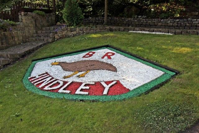 Garden monument, Hindley railway station