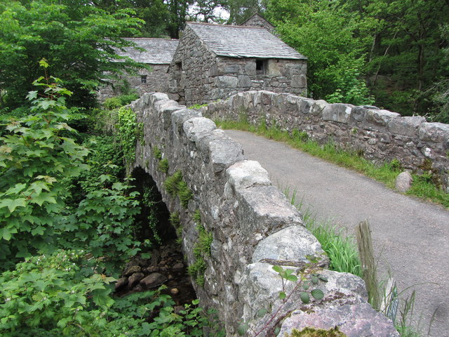 Eskdale Mill and bridge in Boot