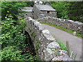 NY1701 : Eskdale Mill and bridge in Boot by Gareth James