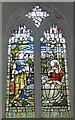 TG2902 : Yelverton and Alpington World War One Memorial window by Adrian S Pye