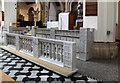 TQ3388 : St Ignatius, South Tottenham - Altar rail by John Salmon