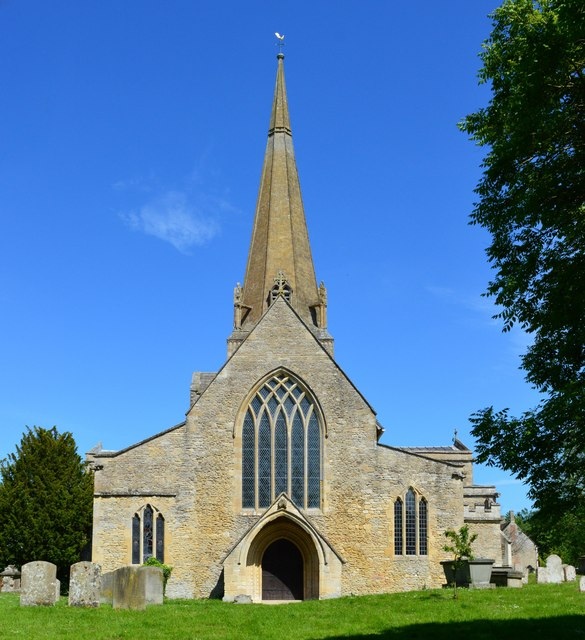 Church of St Mary, Bampton, Oxfordshire