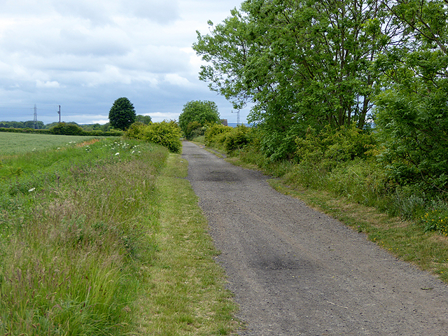 Railway path near Offerton