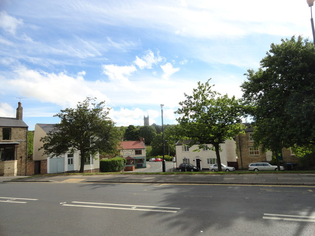 View of Mill Street, Crook