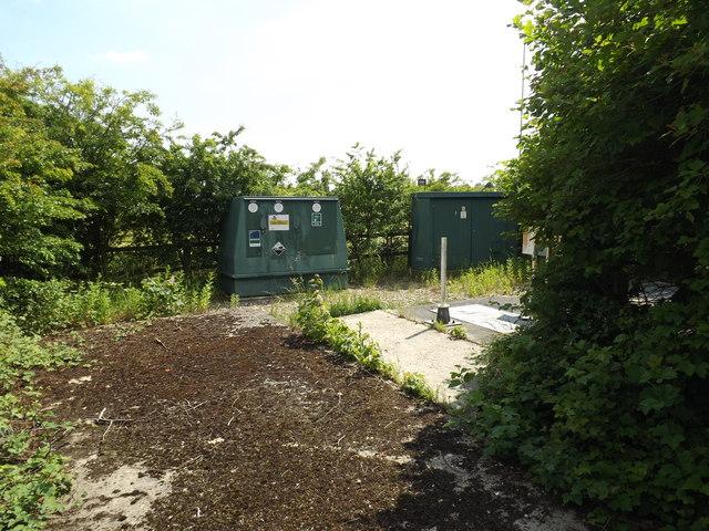 Pumping Station off Burston Road