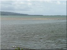 SH5738 : Disappearing sandbank, 25 minutes before high tide by Christine Johnstone