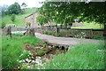SD9359 : Former Ford at Winterburn Wood Farm by John Walton