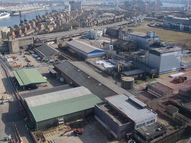 Factories on Bell Lane