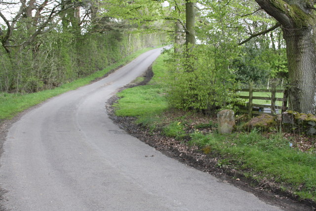 Minor road at Kings Meaburn / Colby boundary