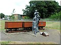 TR2452 : Payday at Snowdown Colliery. Aylesham by Chris Whippet