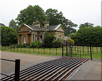 SP4416 : Hensington Lodge and cattle grid, Woodstock by Jaggery