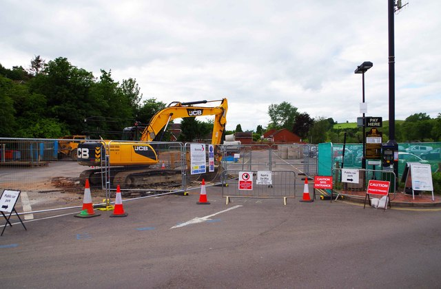 Site of new medical centre (1), Bewdley, Worcs