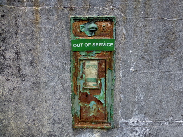 Out of service post box, Maas