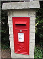 SP4416 : Queen Elizabeth II postbox, Cadogan Park, Woodstock by Jaggery
