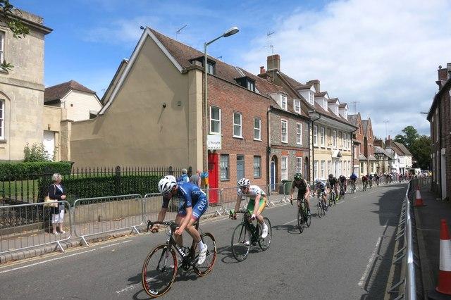 Racing down the High Street