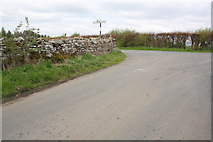 NY6417 : Approaching Long Rigg junction on Brackenslack Lane by Roger Templeman