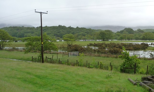 Flooding in the Glaslyn valley [3]