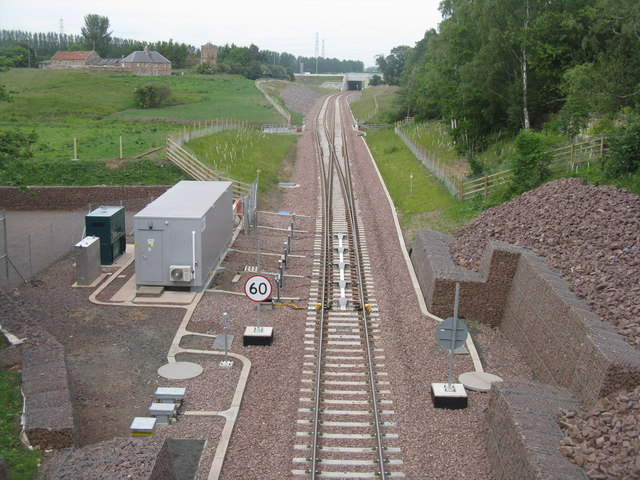 Borders Railway at Sheriffhall