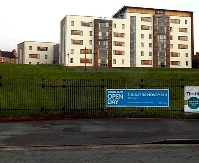 University of Worcester City Campus buildings