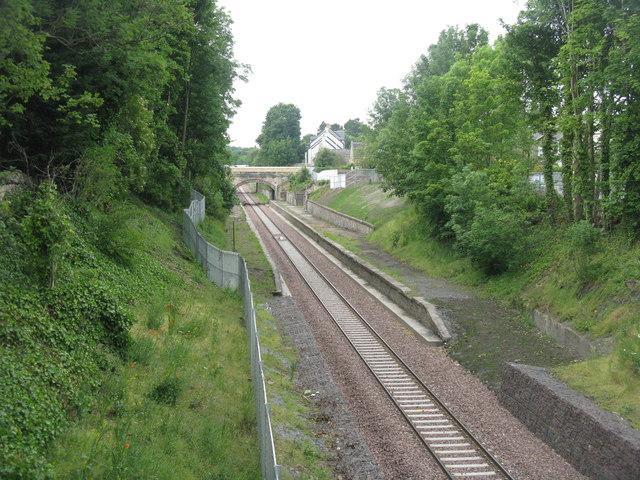 The Borders Railway at Eskbank