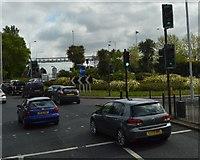 TQ1372 : Roundabout, A316 by N Chadwick