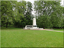 TM1644 : Ipswich War Memorial in Christchurch Park by Adrian S Pye