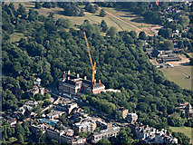 TQ1873 : The Star and Garter building from the air by Thomas Nugent