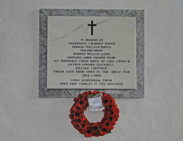 Henley (Suffolk) War Memorial