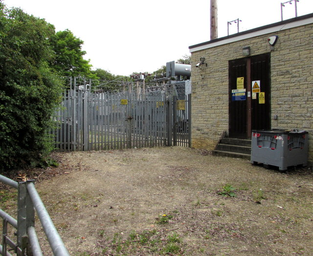 Green Lane electricity substation, Woodstock