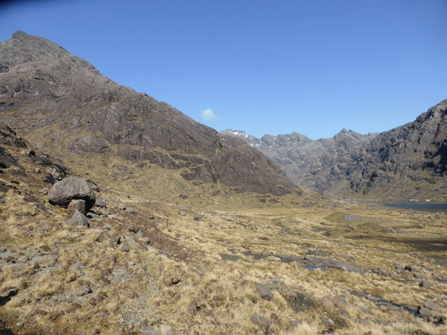 Rough ground by Loch Coruisk by David Medcalf