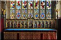 TF0645 : Interior of the Church of St Denys, Sleaford by Dave Hitchborne