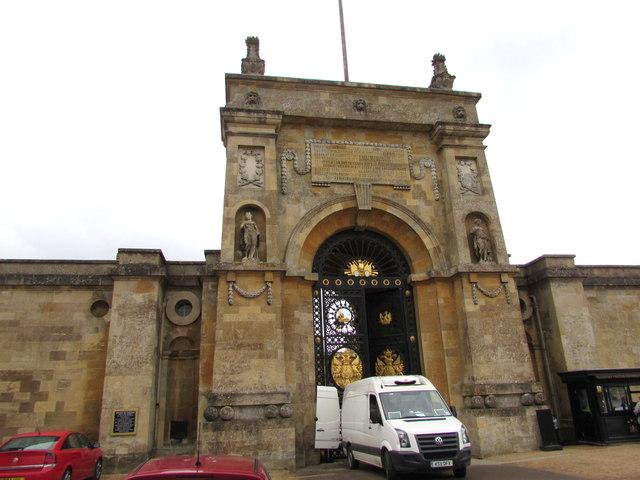 Main entrance to Blenheim Palace, Woodstock
