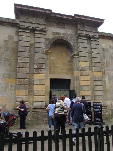 Side entrance to Blenheim Palace, Woodstock