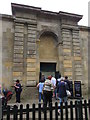 SP4416 : Side entrance to Blenheim Palace, Woodstock by Jaggery