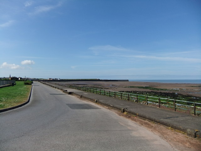 On the Prom, Maryport by David Brown