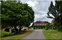TL7835 : Castle Hedingham: The Queen Anne mansion house by Michael Garlick